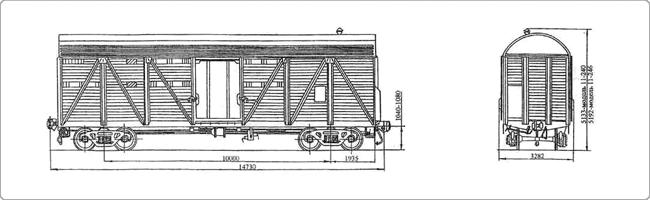 Крытые вагоны Модель 11-246