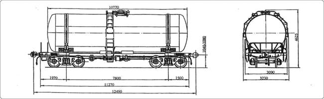 цистерна 15-1427